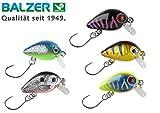 Balzer 5 Trout Crank 3cm 2g - Crankbaits zum Spinnfischen auf Forellen & Barsche, Forellenwobbler, Forellenköder zum Spinnangeln
