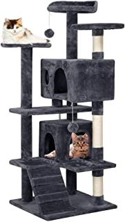 Yaheetech 51 inches Cat Tree Pet Furniture Play House for Kittens