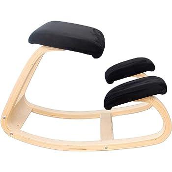バランスシナジー ラウンド 通常 レッド 腰痛対策 姿勢改善 椅子 バランスチェア 自然に背筋が伸びるゆらゆら腰楽ニーリングチェア
