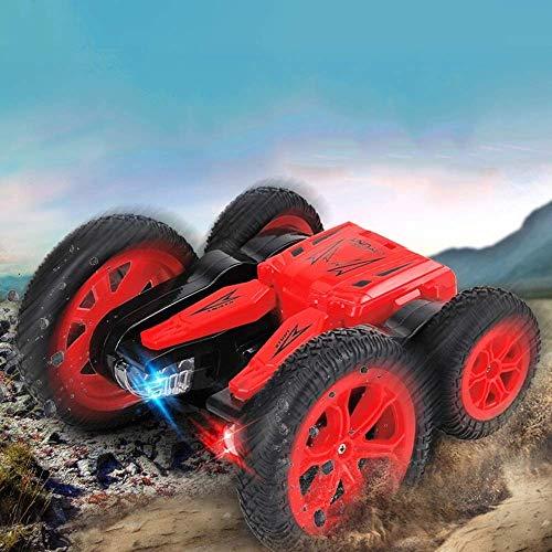 FEE-ZC Festival Gift Spin & Flip Off-Road Cars Juguetes para niños Control Remoto Anfibio Racing...