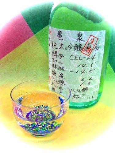亀泉酒造『亀泉純米吟醸原酒CEL-24』