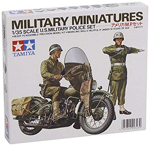 タミヤ 1/35 ミリタリーミニチュアシリーズ No.84 アメリカ陸軍 MPセット プラモデル 35084