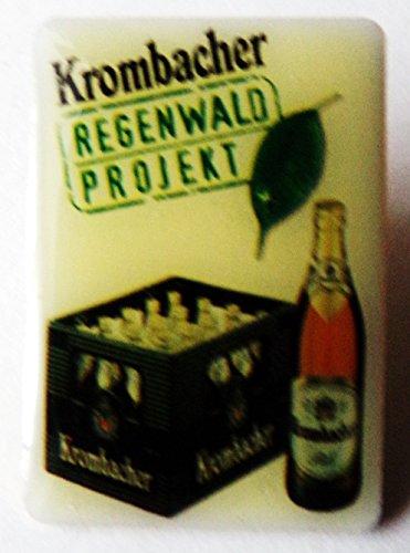 Krombacher - Regenwald Projekt - Kiste & Flasche - Pin 29 x 20 mm