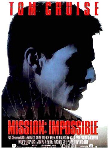 Mission Impossible Affiche Cinéma Originale Grand Format (160x120 cm Pliée) Tom Cruise