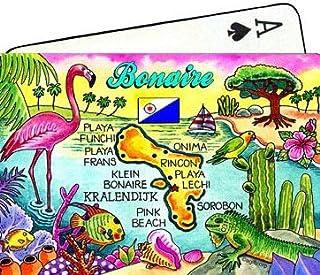 Bonaire Antilles néerlandaises Carte Souvenir de collection de cartes à jouer: Amazon.es: Juguetes y juegos
