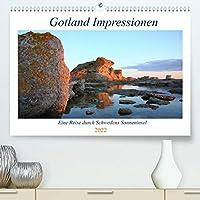 Gotland Impressionen (Premium, hochwertiger DIN A2 Wandkalender 2022, Kunstdruck in Hochglanz): Faszinierende Bilderreise durch Gotland, Schwedens Sonneninsel (Geburtstagskalender, 14 Seiten )