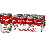 Campbell'sCondensed Cream of Broccoli Soup, 10.5 oz. Can (Pack of 12) (Packaging May Vary)