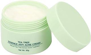 Crema para el Tratamiento del Acné Crema de Suero de Cara de árbol de Té para la Reparación Anti-acné Crema Reparadora de ...