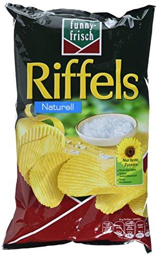 funny-frisch Riffels Naturell, 3er Pack (3 x 150 g)