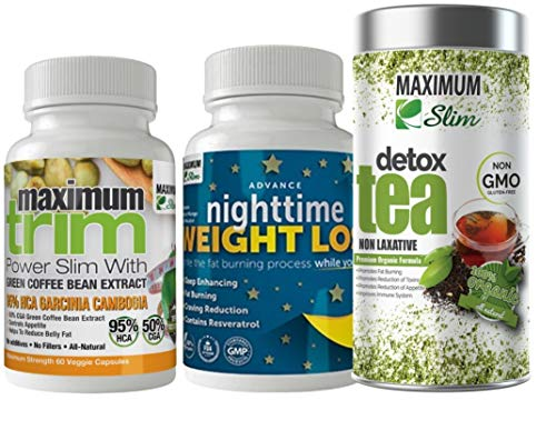 Jump Start Your Metabolism and Detox Your Body - 3 Great Products - Detox Tea, Nighttime, Garcinia Cambogia