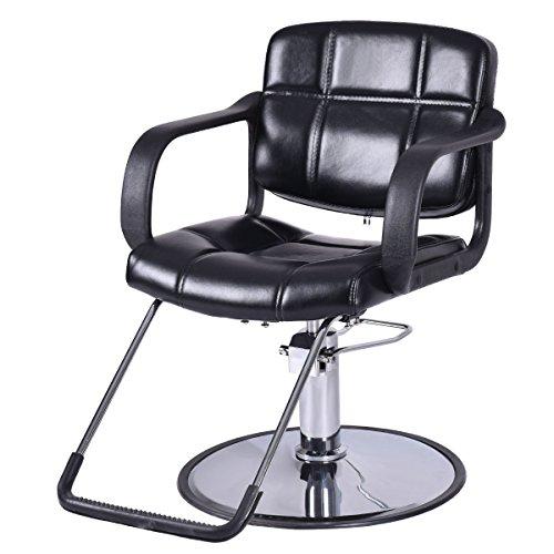 "Giantex Classic Hydraulic Barber Chair Salon Beauty Spa Shampoo Hair Styling Equipment, 25"" Wide (Hydraulic Barber Chair)"