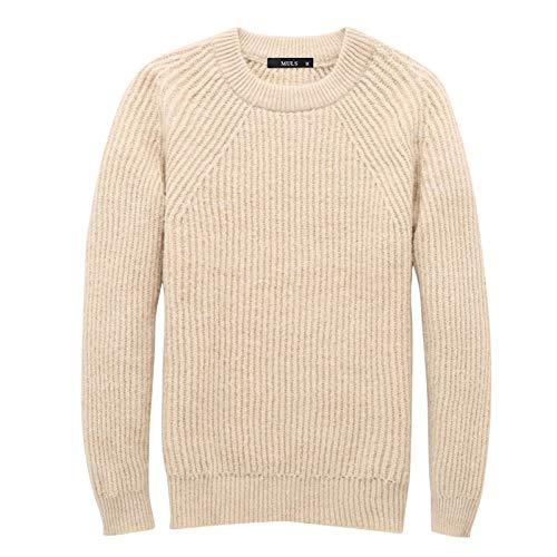 Aofanfs Otoño Hombre Mujer Prendas de Punto Suéter Hombres Jerseys Grueso Invierno...