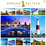 Around Britain 2022 Wall Calendar