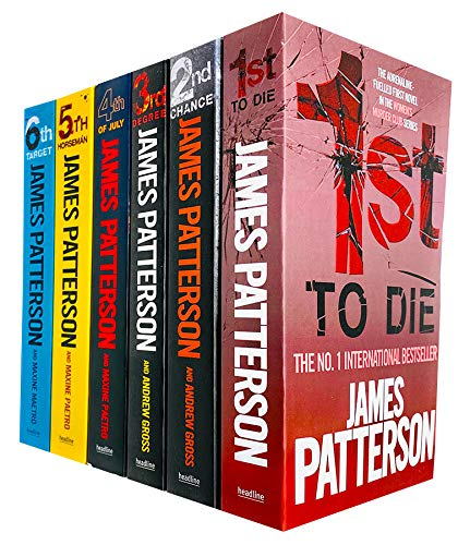 Womens Murder Club 6 Books Collection...