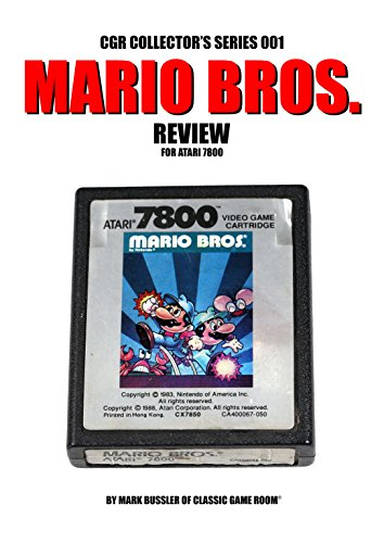 CGR Collector's Series 001: Mario Bros. Review for Atari 7800 (English Edition)