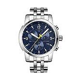 GUANQIN 2020 Meccanico Automatico 200m Diver nuoto sport Uomini orologi Top Brand Luxury 316L orologio da uomo in acciaio relogio masculino (blu e bianco)