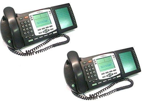 Lot Of 2 Nortel NTDU92 Ip Phone 2004 VoIp Business Office Network Telephone