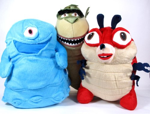 Dreamworks Monsters Vs Aliens 3 Piece Plush Set Includes B O B 8 Inches Missing Link 10 Inches And Insectosaurus 8 Inches Buy Online In Brunei Monsters Vs Aliens Products
