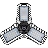 Nathome 3 Colors led Garage Light with Cooling system