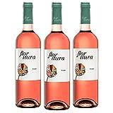 Flor Itura Vino de la Tierra Vino Rosado Caja WEB de 3 Botellas 75 cl
