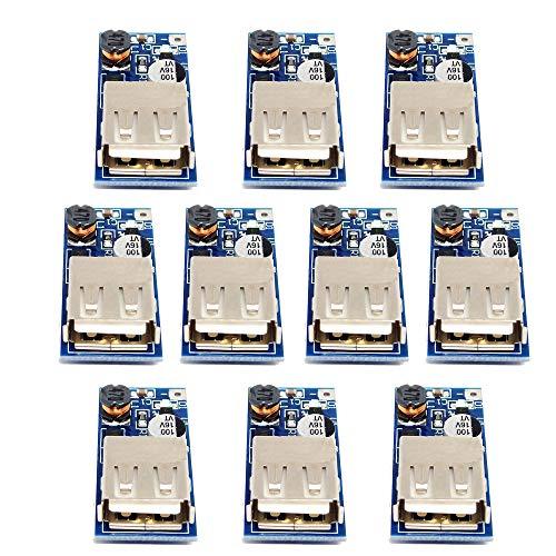 10 Stück DC zu DC Konverter Boost Step Up 0,9 V-5 V auf 5 V Netzteil Modul USB Ladeplatine