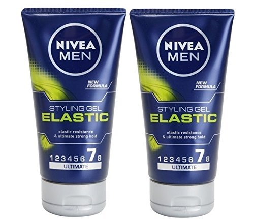 2 Nivea Men Fiber Gel Elastic Styling Gel 2 x 150ml