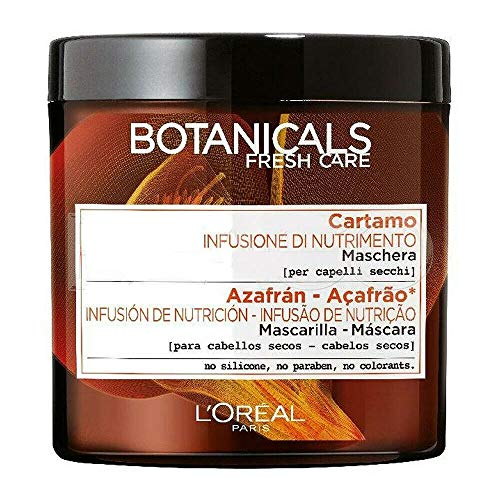 Botanicals Fresh Care al Cartamo per capelli secchi - Shampoo, Maschera, Pomata di Morbidezza (Maschera...