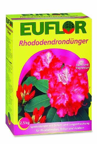 Euflor 2,5 kg engrais pour rhododendrons azalées rhododendron spécial