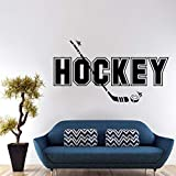 zaosan Wandaufkleber Hockey Wandaufkleber Sofa Hintergrund