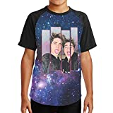 Sunyuer Youth Youtubers The Martinez Twins Music Tops Fashion Graphic Gift...