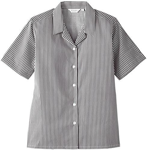 Trutex Mädchen 2PK SS Striped Rever Bluse, Mehrfarbig (Grey/White), 44