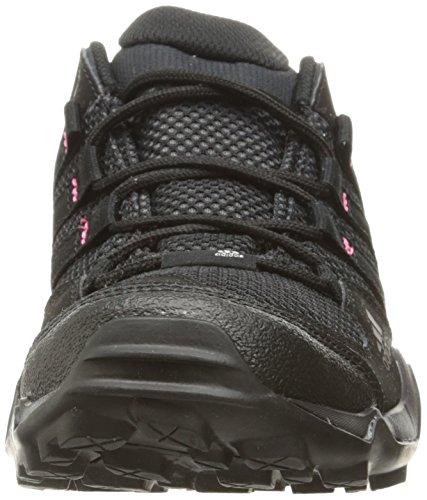 adidas Outdoor Women's Ax2 Hiking Shoe, Prism Blue/Black/Super Blush, 9 M US