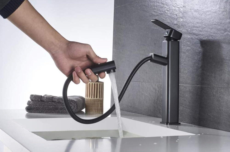 Cxmm Kupfer Backfarbe hei und kalt schwarz Alten schrgen Wasserhahn europischen Wasserfall Waschbecken Bad Wasserhahn Küchenarmatur