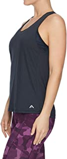 Rockwear Activewear Women's Very Berry Racer Back Singlet Black 6 from Size 4-18 for Singlets Tops