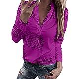 T-Shirts Damen Blusen Tops Sweatshirt Kapuzenpullover Langarmshirts Frühjahr Sommer Beste Freunde Pullover Hoodies für Frauen mit Motiv Frauen V-Ausschnitt Buchstaben Druckknopf Langarm T-Shirt Tops