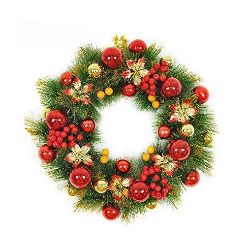 GYH Guirlande de Noël - Cadeau de décoration de Noël Guirlande d'or Guirlande de Noël Accessoires d'arbre de Noël 50cm /& (Couleur : C)