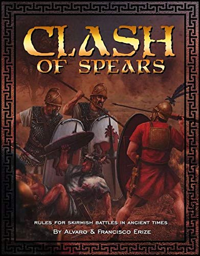 Miniatures Fighting Igel – Clash of Spears Regelbuch (Hardcover) – Raids and Skirmishes in Antike Zeiten
