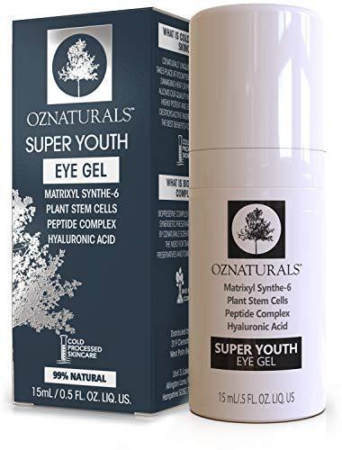 OZNaturals Anti Aging Eye Gel: Super Youth Eye Gel for Men...