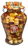 Galfrè Antipasti d'Italia - Hongos Porcini enteros en aceite de oliva-Tarro Kg. 4 - Producto Artesanal Italiano