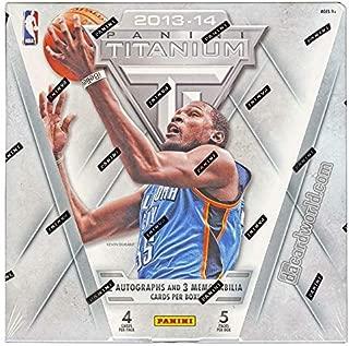 2013 14 panini titanium basketball hobby box