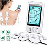 Ben Belle TENS Unit Muscle Stimulator with 8 Electrode Pads, Rechargeable 16 Modes Electronic Pulse Machine.