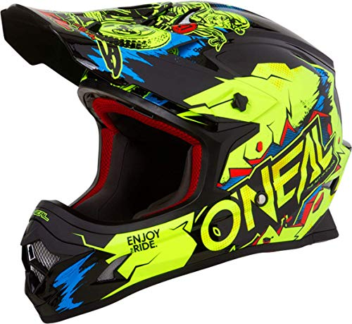 O'Neal 3Series Villain Motocross Enduro Helm Trail Quad Cros