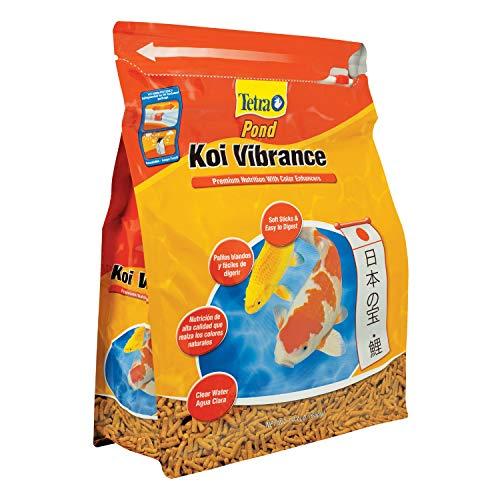 TetraPond Koi Vibrance 1.43 Pounds, Soft Sticks, Floating Pond Food, TetraPond Koi Vibrance, Soft Sticks, Floating Pond Food