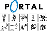 PrimePoster - Portal 2 Science Symbol Poster Glossy Finish Made in USA - YPOR009 (16' x 24' (41cm x 61cm))