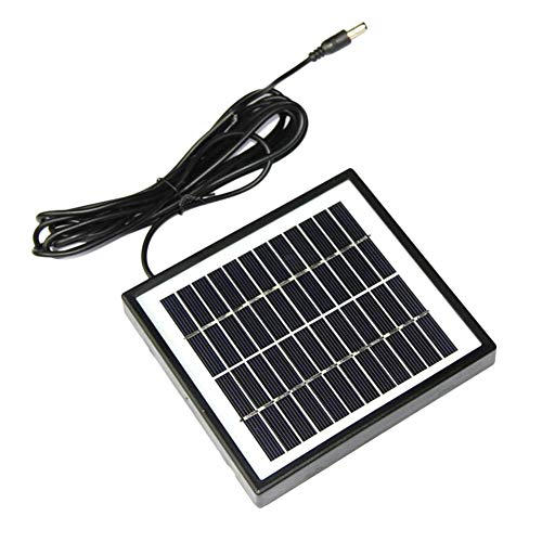 Proglam Solarmodul, 2 W, 12 V, Polykristallin, DIY Solarmodul, für 9 V Akku-Ladegerät