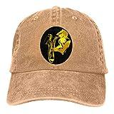 Clipart Jazz Logo Transparente Neutral Sombrero Denim Visor Visor Gorra de béisbol