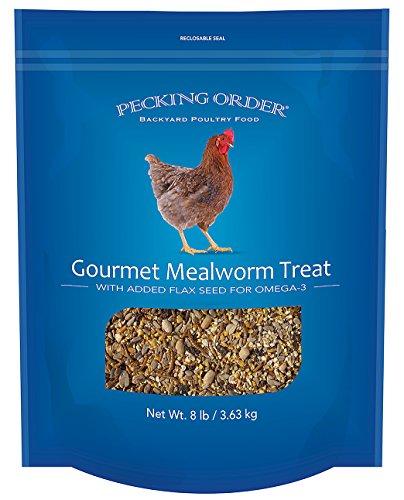 Pecking Order 9327 009327 Gourmet Mealworm Treat, 8 lb