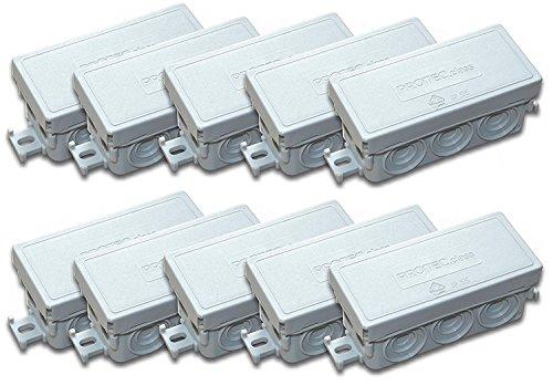 Verbindungsdose Abzweigdose 89 x 43 x 37 mm IP55 Feuchtraum (5 Stück FR-Abzweigdose)
