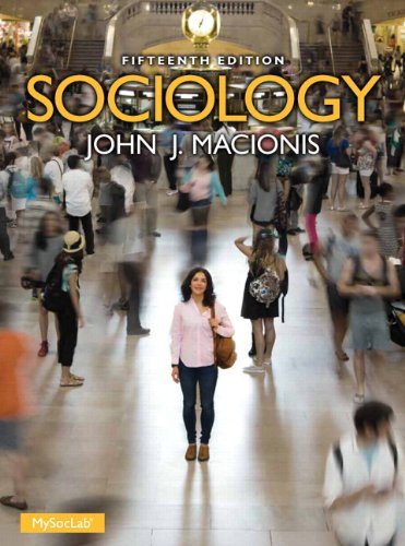 Sociology Plus NEW MySocLab with Pearson eText -- Access Card Package (15th Edition) (Macionis Sociology & Society Serie