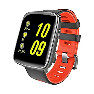TechComm Swimmer IP68 Waterproof Smartwatch for Swimming & Diving with Bluetooth, Fitness Tracker, Heart Rate Monitor, Sleep Monitor and Pedometer